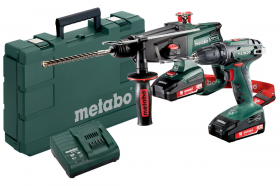 Набір METABO Combo Set 2.3.2 BS18+KHA18 (685083000)