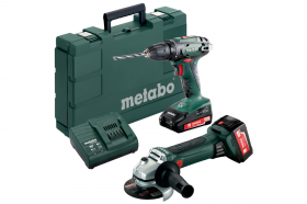 Набір METABO Combo Set 2.4.3 BS18+W18LTX125Quick